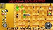 Bomber Friends Level 43  Nível 43  Fase 43 #BFS Solução