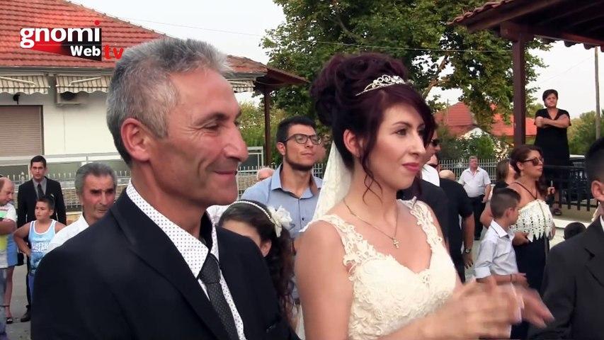Γάμος Γιώργου Ψαρρά και Μάρθας Κωνσταντινίδου στο Ηλιόλουστο Κιλκίς