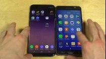 Samsung Galaxy S8 Plus vs. Samsung Galaxy J7 - Which Is Faster