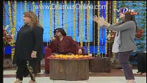Check out Another Dance of Shabbir Jan's Wife in Sahir Lodhi's Morning Show – Rozi News