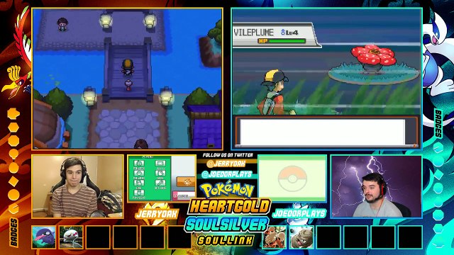 Pokemon Heart Gold & Soul Silver Randomized Soul Link w/ Joedor EP 04 WE JUST WANT MORE PO