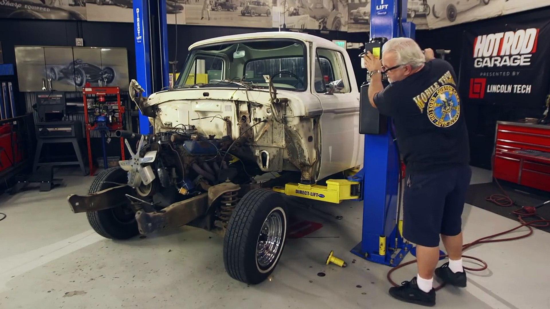 Ford Truck / Cop Car Body Swap! Hot Rod Garage Ep  49