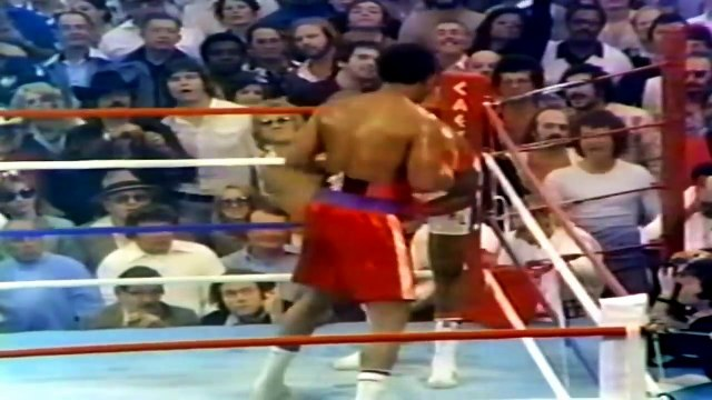 GEORGE FOREMAN VS RON LYLE Full Fight Highlights UNSTOPPABLE FORCE Meets an IMMOVABLE OBJE