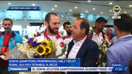 Dünya Şampiyonumuz Ramil Güliyev İstanbul'da! #FBTV