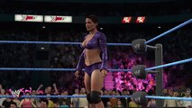 WWE 2K17 PC: Ivory VS Jacqueline Gameplay Hall of Fame DLC Smackdown 2000