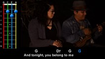Tonight You Belong To Me (Steve Martin from The Jerk) Ukulele Play Along!