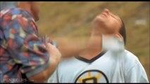 Baseball Bloopers. Nolan Ryan Ventura fight BEST version