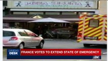 i24NEWS DESK | France votes to extend state of emergency | Monday, August 14th 2017