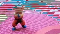DIY Krillin clay - Dragon ball toys  Hướng dẫn nặn Krillin - đồ chơi 7 viên ngọc rồng