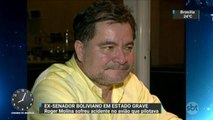 Ex-senador boliviano sofre acidente aéreo e fica em estado grave