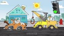 Et des voitures pour enfants Apprendre apprentissage des noms des sons rue camions Véhicules dambulance TRORS