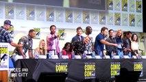 SUICIDE SQUAD Comic Con Panel Margot Robbie, Will Smith, Jared Leto