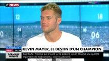 """Kevin Mayer sur son saut à la perche : """"C'était le saut de ma vie"""""""