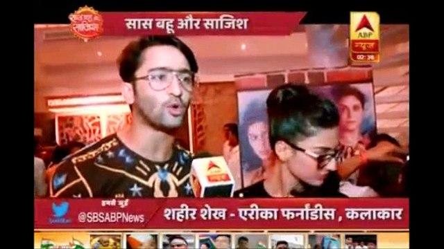 SBS - Kuch Rang Pyar Ke Last Day Shaheer Sheikh Erica Fernandes IV