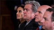Trump Urged To Fire Steve Bannon