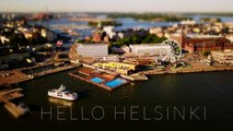 Hello Helsinki (4k - Timelapse - Tiltshift)