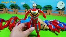 Monster Egg. Ultraman Ginga toy set
