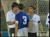 ITALIA - URUGUAY  |  Mondiali di Calcio Italia '90  |  2° Tempo  | Ottavi di Finale  |  Notti Magiche  |  Italia 1990