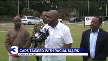 Pastor Finds Racial Slurs Painted on His Car