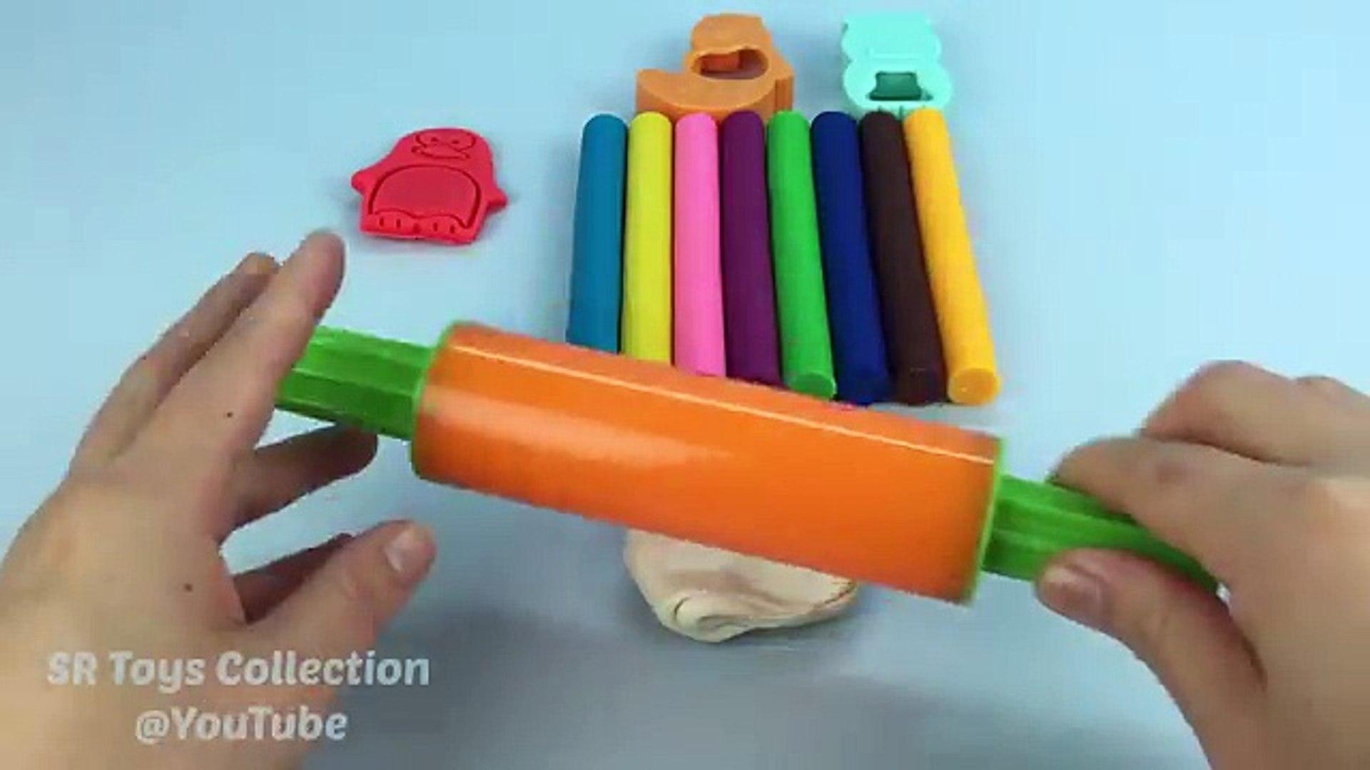 И глина цвета Творческий Творческий е е е е е весело Узнайте моделирование пресс-формы играть пласти