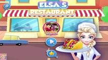 Elsas Restaurant Steak Taco Salad - Frozen Elsa Cooking Game for Kids