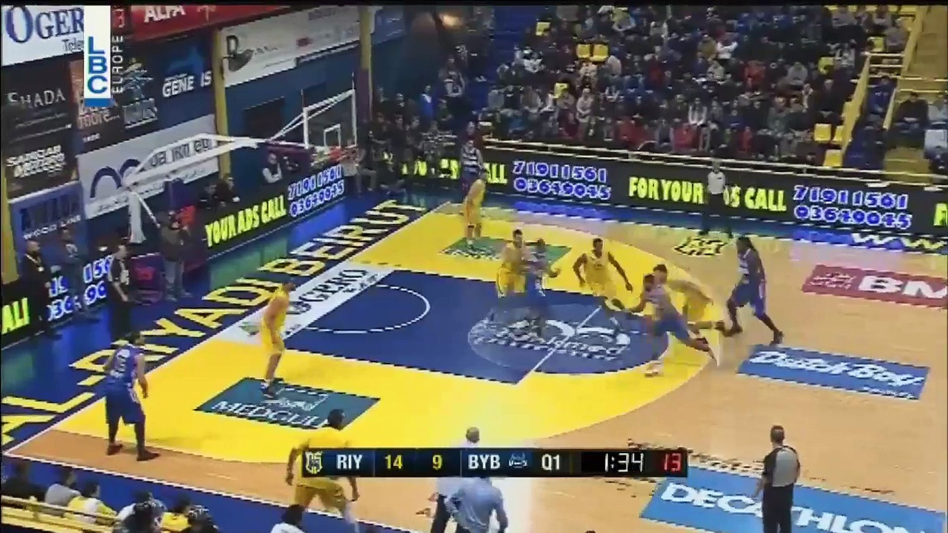Lebanese Basketball League 2016/2017 Jay Youngblood Dunk