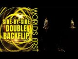 Travis Pastrana and Cam Sinclair: World's First Side-by-Side FMX Double Backflips