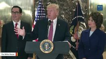 Trump: Resigning CEOs 'Are Leaving Out Of Embarrassment'
