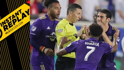 Did Kaka's teammate also commit a hands-to-the-face foul? | INSTANT REPLAY