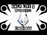 HALF LIFE 2 DOWNFALL - HL2 Mod - Gameplay Ending - ANTLION CAVE