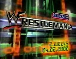 WWF Raw 3/20/2000 The Rock vs HHH vs Big Show (WWF Championship Match) 1/2