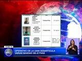 Operativos de la UIAN desarticula varias Bandas Delictivas