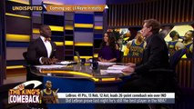 Skip Bayless reacts to LeBrons Triple Double in Cavaliers Game 3 win against Pacers | UND