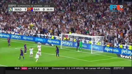Karim Benzema Goal - Real Madrid vs Barcelona 2-0 – 16 August 2017