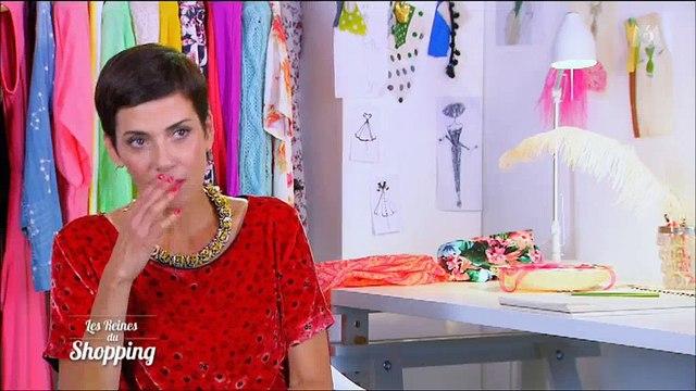 """La mise en beauté d'une candidate horrifie Cristina Cordula dans """"Les Reines du shopping"""" - Regardez"""