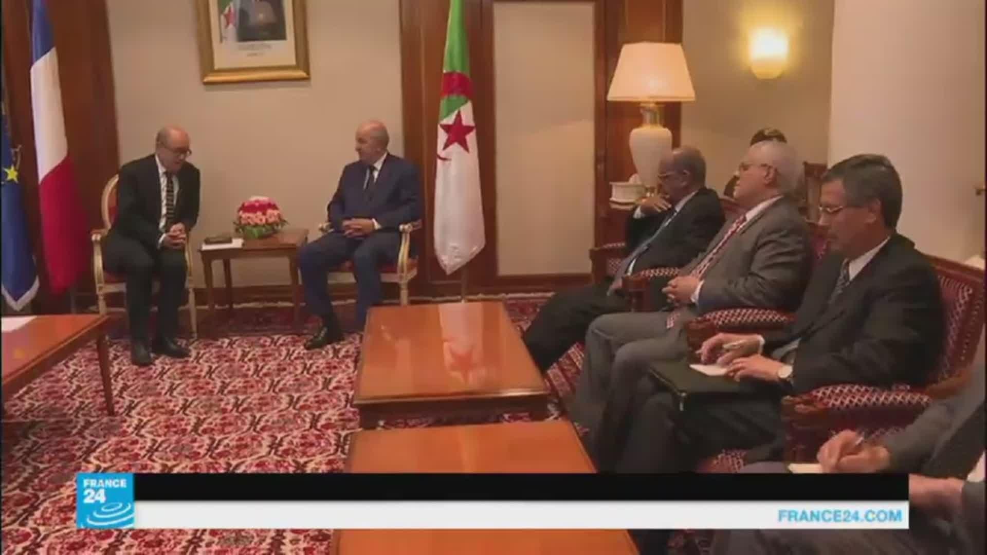 إقالة وتعيين-الجزائر