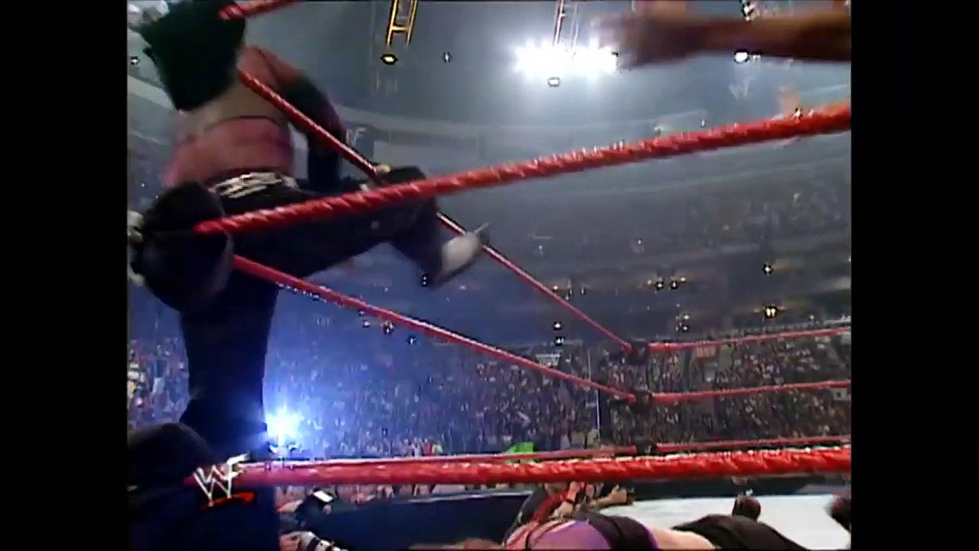 Matt Hardy and Lita vs Torrie Wilson and Gregory Helms 7/30/2001