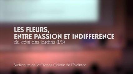 Les fleurs entre passion et indifférence (1/3)