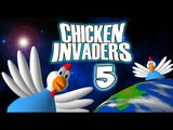 Chicken Invaders 5 (iOS, Android) Gameplay #1