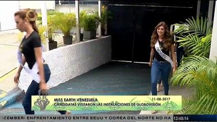 Candidatas al Miss Earth enfrentaron nuevos desafíos frente a las cámaras este viernes