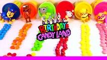 Et anniversaire gâteau couleur coloration les couleurs pour coeur enfants Apprendre arc en ciel page