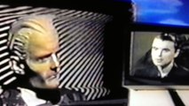 Max Headroom vs David Byrne (Talking Heads)