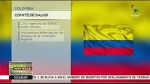 Colombia: represión en Segovia deja un muerto y varios heridos