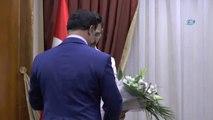 KKTC Başbakanı Özgürgün, Dünya Atletizm Şampiyonası Finalisti Hekimoğlu'nu Kabul Etti