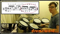★ Be Quiet And Drive (Deftones) ★ FREE Drum Lesson | How To Play Drum BEAT (Abe Cunningham
