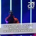 Chant traditionnel: Des supporters de l'OM trollent un set de DJ Snake, fan du PSG