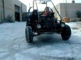 Clip délire mon frère et le buxter sur la neige