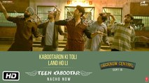 Teen Kabootar Full HD Video Song Arjunna Harjaie ft Raftaar Divya Mohit - Lucknow Central - Farhan Akhtar, Gippy