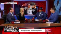 San Antonio Spurs done without Tony Parker in the 2017 NBA Playoffs? | SPEAK FOR YOURSELF