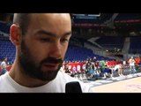 Pre-game interview: Vassilis Spanoulis, Olympiacos Piraeus